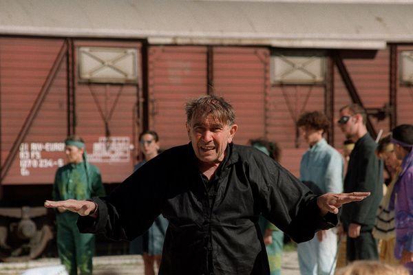 """Armand Gatti à Marseille le 27 juillet 93, parle de sa pièce """"Adam quoi?"""""""