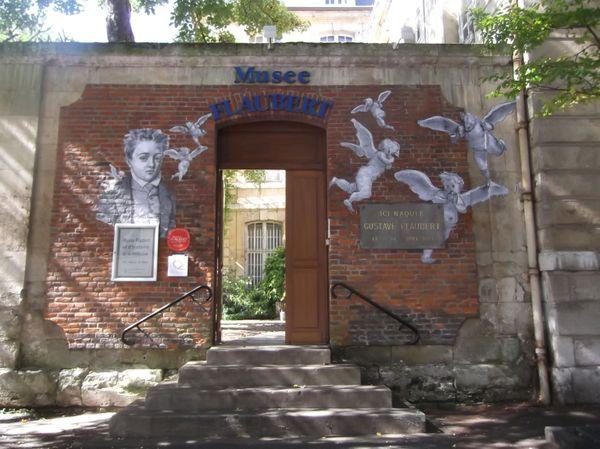 Entrée du musée Flaubert à Rouen