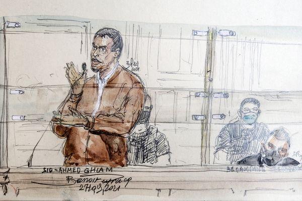 Sid-Ahmed-Ghlam a été reconnu coupable d'un meurtre et d'une tentative d'attentat en première instance