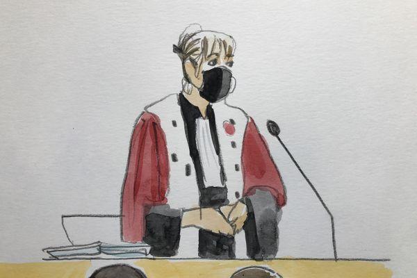 L'avocat générale au procès en appel de Laurent Dejean devant la cour d'assises du Tarn - 2021.