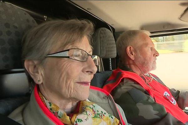 Colette parcourt chaque semaine plusieurs centaines de kilomètres pour distribuer l'aide alimentaire en Haute-Saône.