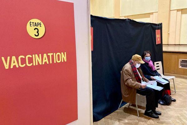 A Strasbourg comme dans tout le département du Bas-Rhin, les centres de vaccination seront fermés lundi 25 et mardi 26 janvier.