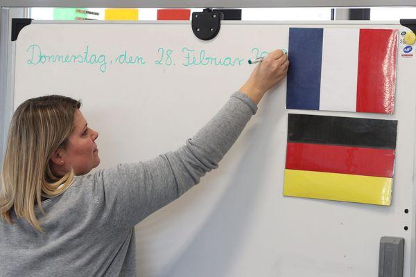 Environ un quart des collégiens français choisissent l'apprentissage de l'allemand (photo d'illustration).