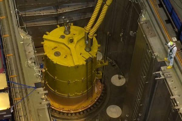 réacteur de la centrale nucléaire de Civaux.