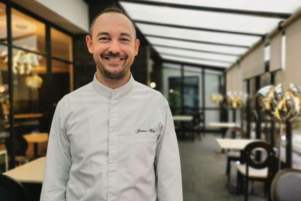 Le sourire de Jérôme Roy, chef cuisinier de l'Opidum