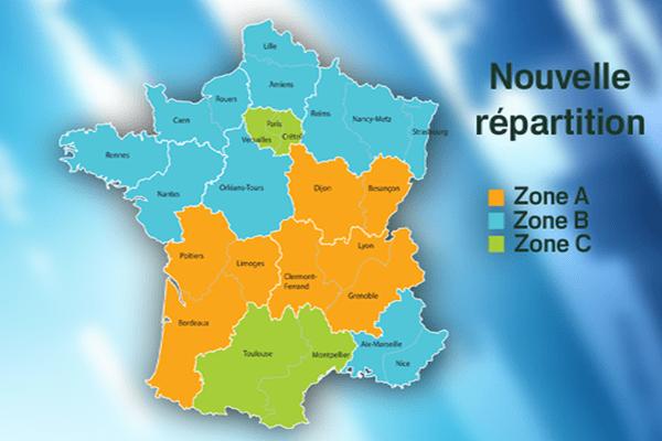 Carte scolaire - avril 2015