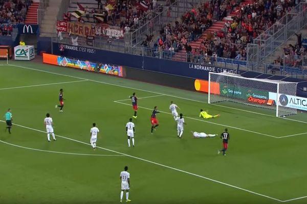 En Ligue 1, le SM Caen avait battu le FC Metz 1 à 0 au Stade d'Ornano.