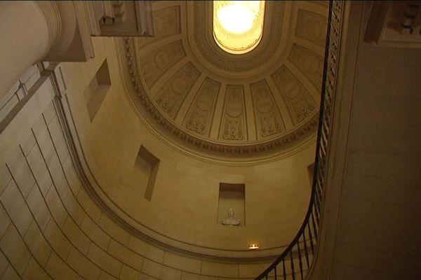 Près d'un tiers des bâtiment anciens de l'ancien Palais de justice Fontette  est classé