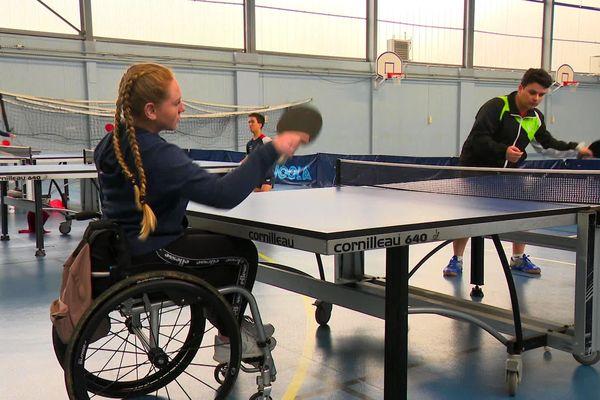 Basket, tennis de table, athlétisme, et natation : quatre disciplines sont réparties depuis dimanche sur différents sites de Limoges.