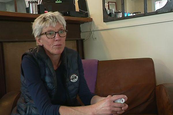 Caroline Roose nouvellement élue au parlement européen, interviewée par F3 Côte d'Azur à Villeneuve Loubet, le lendemain de l'élection européenne