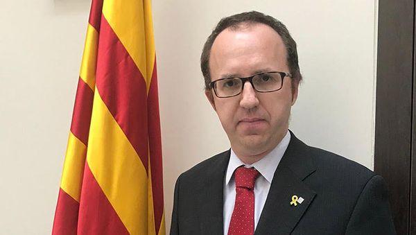 Daniel Camos, délégué de la Generalitat de Catalunya en France