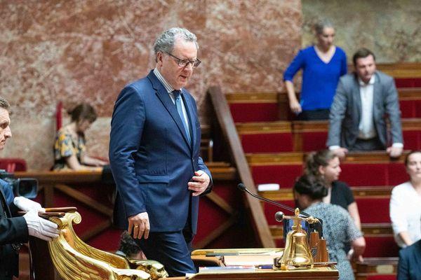 Richard Ferrand, président de l'assemblée natinale et député du Finistère