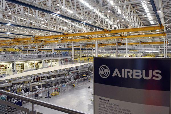 L'usine Airbus implantée à Broughton fabrique des ailes d'A-350. Elle n'est pas près de quitter le Pays de Galles.
