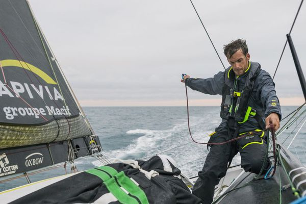 Charlie Dalin skipper d'Activia