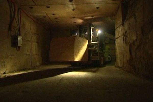 On recense 250 hectare des galeries souterraines dans l'agglomération caennaise. Une seule carrière est encore en activité à ce jour c'est celle de Cintheaux
