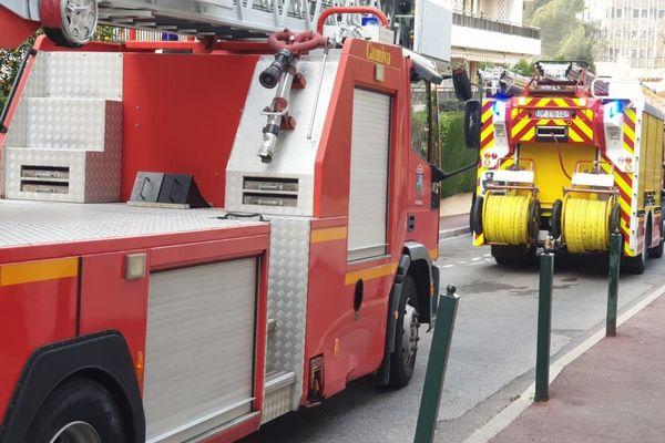 38 sapeurs-pompiers ont été engagés au Cannet.