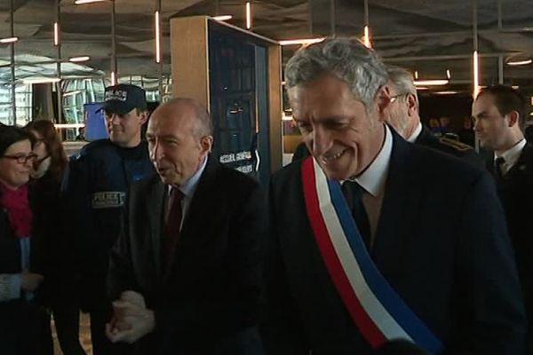 Le ministre de l'Intérieur Gérard Colomb s'est rendu à Montpellier le 9 février 2018 pour présenter le dispositif de police de sécurité du quotidien