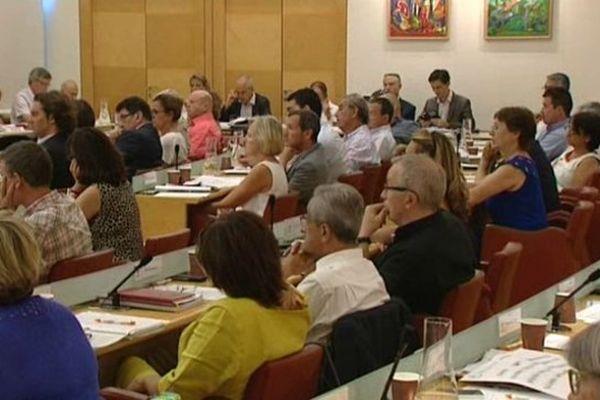 Le conseil d'Agglomération de Montpellier