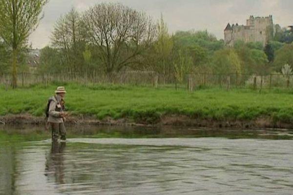 La rivière l'Huisne