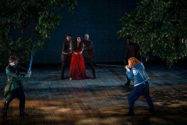 La finta pazza se produit quatre soirs à partir du mardi 5 février à l'opéra de Dijon.