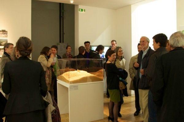 Une salle du 4 eme étage de Beaubourg est réservée au projet Ronchamp