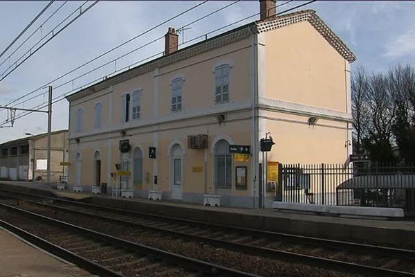 La gare de Loriol (Drôme)