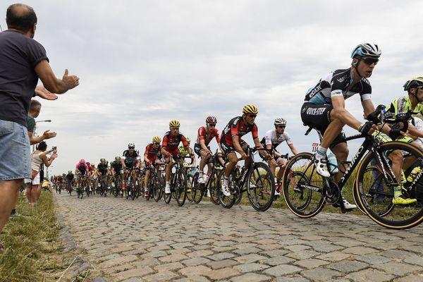 Le Tour de France sur les pavés en 2015