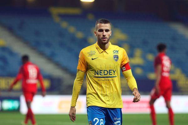 Gaëtan Weissbeck, le capitaine du FC Sochaux-Montbéliard.
