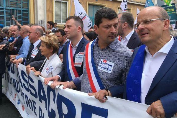 Manifestation du 22 juin 2019 pour GE à Belfort