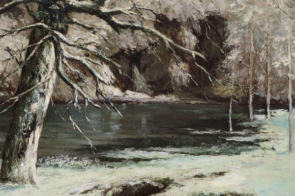 Le Chasseur d'eau (1873) Gustave Courbet