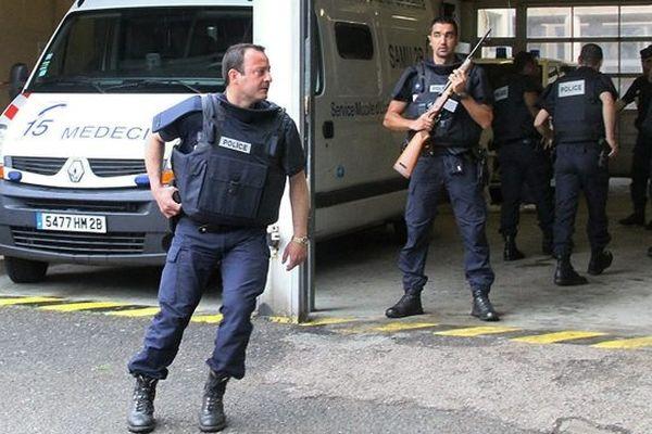 28/05/12 - Olivier Sisti victime d'une tentative d'homicide à l'hôpital de Bastia, transféré à Nice