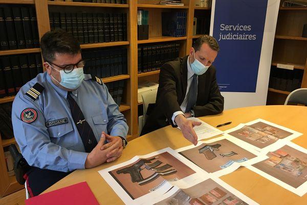 Le procureur de la République de Haute-Saône a détaillé la saisie.