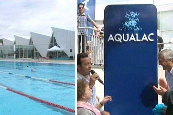 Aqualac, centre aquatique rénové d'Aix-les-Bains, a été inauguré le 5 juillet.