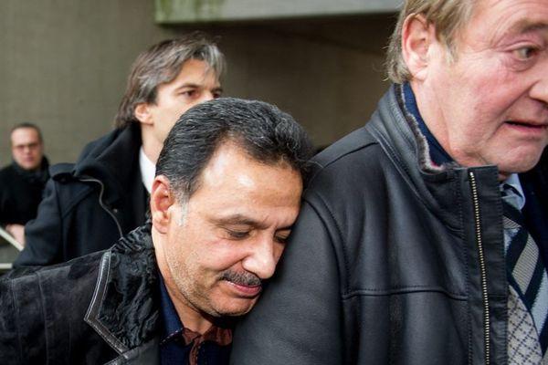 Hafiz Mammadov et Gervais Martel à Bollaert-Delelis en novembre 2013.