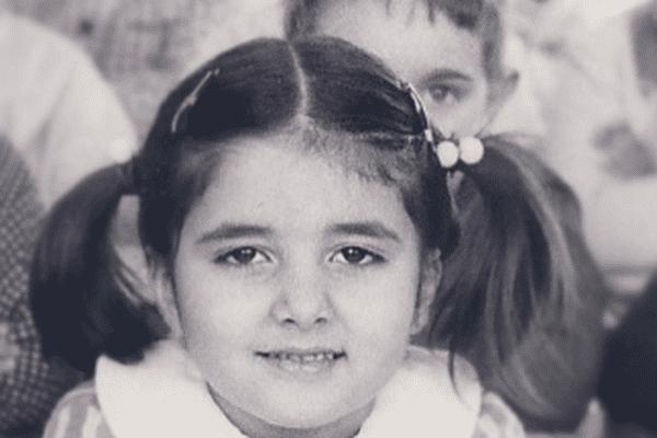 Sylvie Grassi, école maternelle de la rue Pommier, Marseille 3eme ( année 1969/1970)