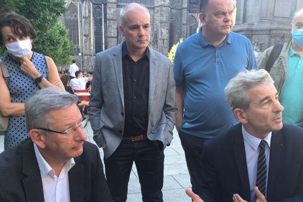 Eric Faidy et Jean-Pierre Brenas en fusionnant leurs deux listes espèrent remporter la mairie de Clermont-Ferrand le 18 juin.