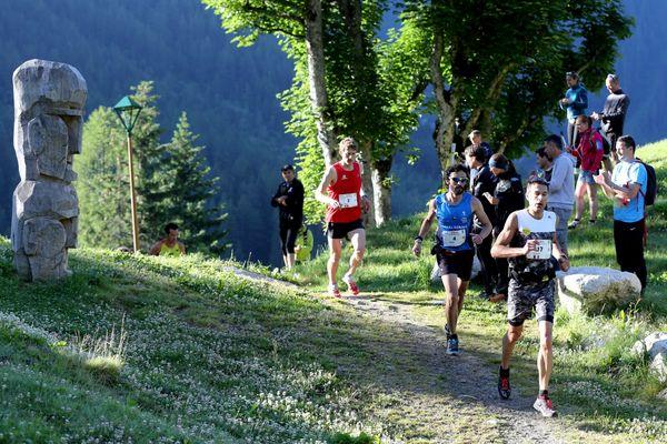Le 28 juin 2015, lors du marathon du Mont-Blanc.