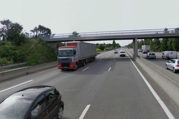 L'accident s'est déroulé sur l'A7 au niveau de Salaise-sur-Sanne dans le Nord Isère.