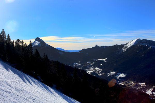 À partir de 900 mètres d'altitude, 15 centimètres de neige sont attendus vers l'intérieur de la Chartreuse.