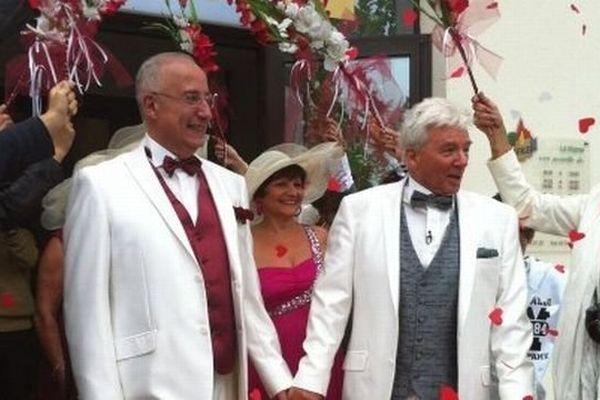 Mariage Gay à Fitilieu en Isère