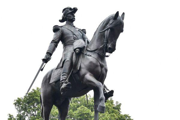 La statue du général Faidherbe à Lille.
