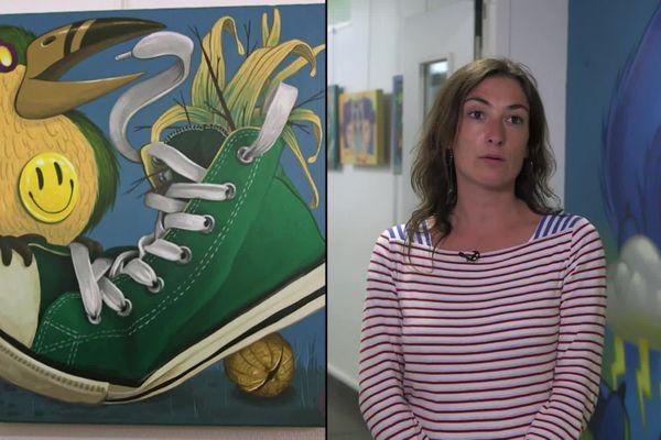 Mélanie Maingan-Sachon, chargée de la médiation au musée Sainte-Croix à Poitiers