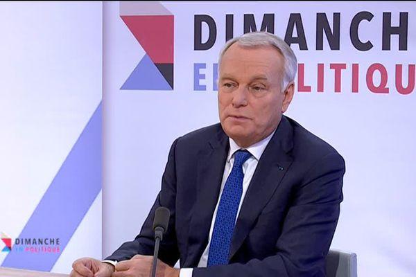 Jean-Marc Ayrault sur le plateau de Dimanche en Politique le 12 janvier 2018