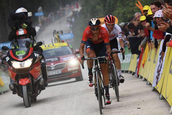 Dylan Teuns - Tour de France 2019 - la Planche des Belles Filles, Haute-Saône - maxPPP