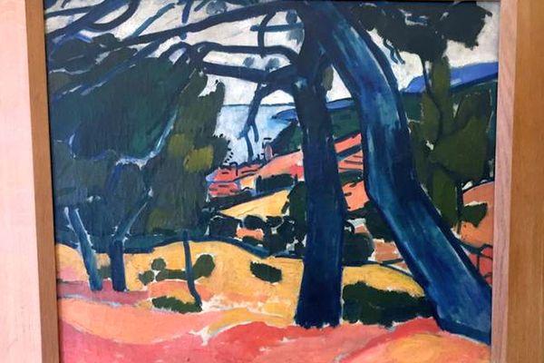 27/01/2021. Un tableau du peintre André Derain, butin des nazis, restitué à ses propriétaires par la Ville de Marseille