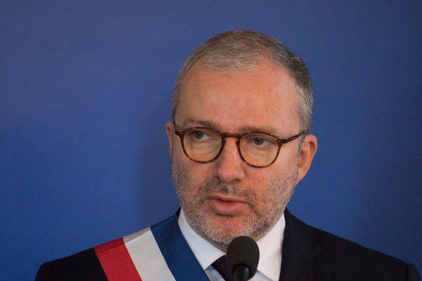 Denis Thuriot, maire de Nevers le 15 février 2019