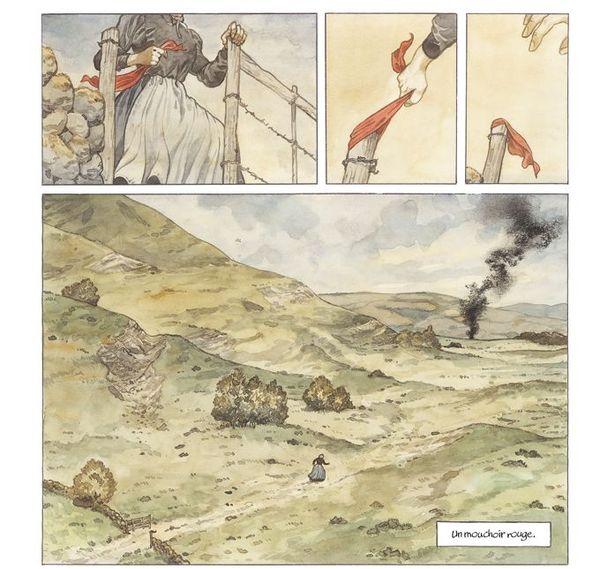 Planche du roman graphique Mary Jane / © Frank Le Gall & Damien Cuvillier - Futuropolis