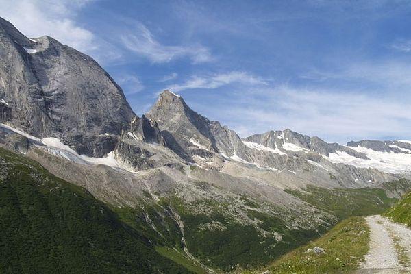 Une vue du massif de la Vanoise.
