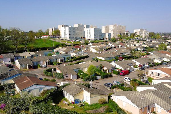 Quartier de Beaubreuil à Limoges