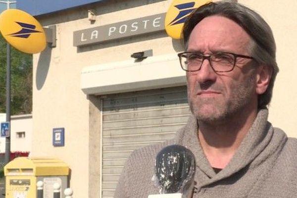 David Sempé, secrétaire départemental Sud PTT du Loiret.